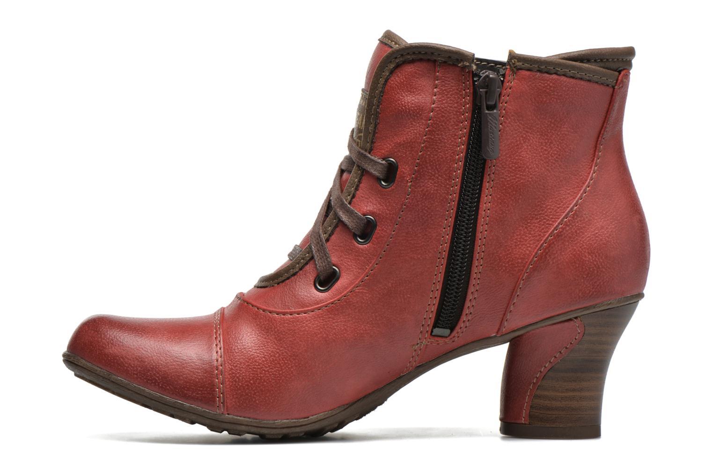 Bottines et boots Mustang shoes Mape Rouge vue face