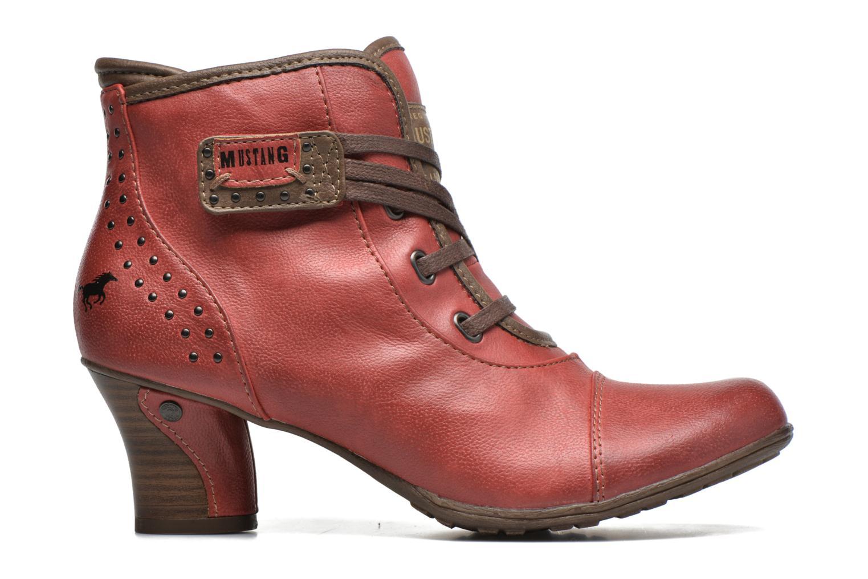 Bottines et boots Mustang shoes Mape Rouge vue derrière