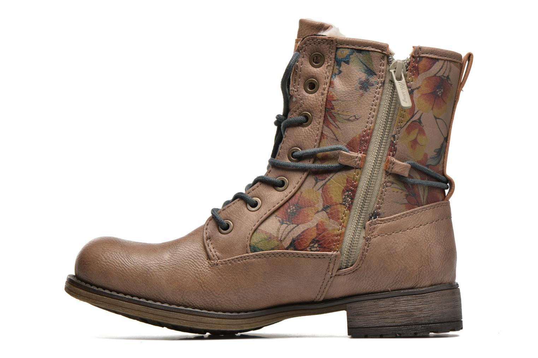 Bottines et boots Mustang shoes Manat Marron vue face