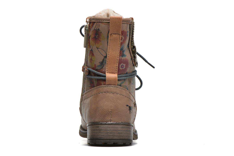 Bottines et boots Mustang shoes Manat Marron vue droite