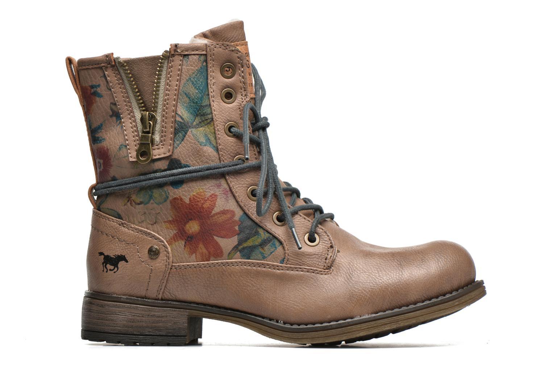 Bottines et boots Mustang shoes Manat Marron vue derrière