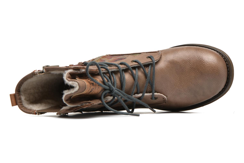 Bottines et boots Mustang shoes Manat Marron vue gauche