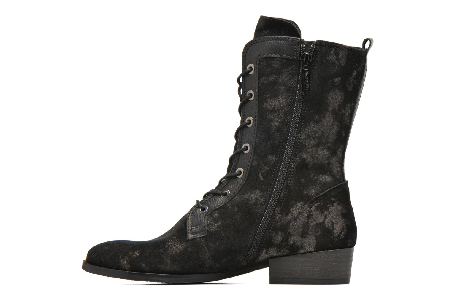 Ankle boots Softwaves Bowie 02 Black front view