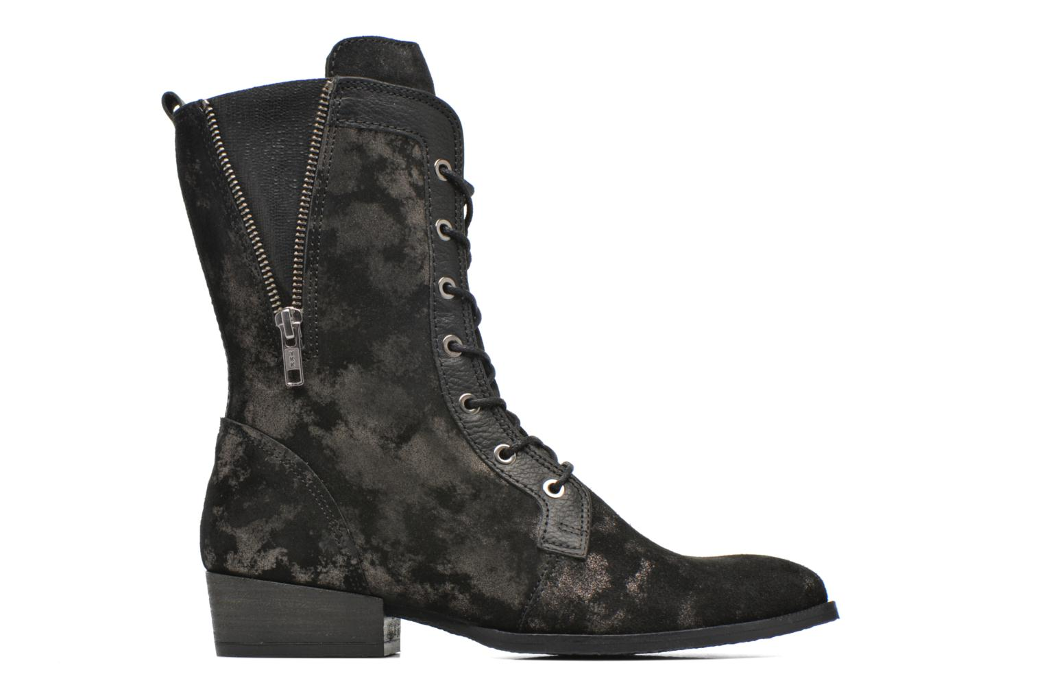 Ankle boots Softwaves Bowie 02 Black back view