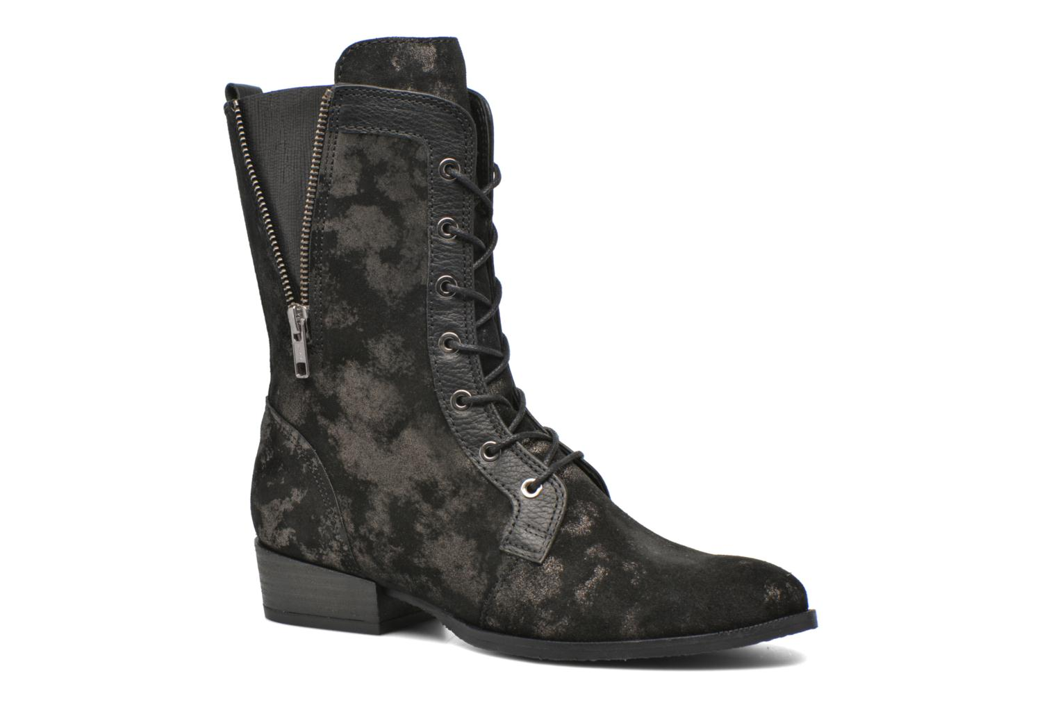 Ankle boots Softwaves Bowie 02 Black detailed view/ Pair view