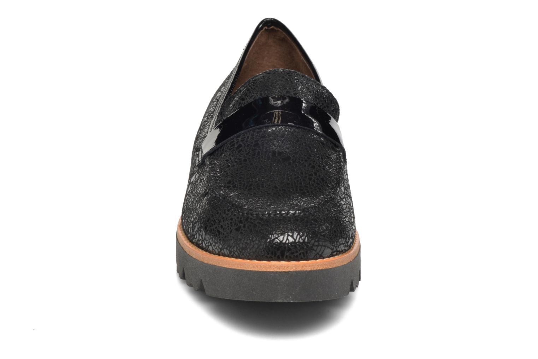Mocassins Softwaves Erika 14 Noir vue portées chaussures