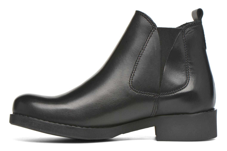 Bottines et boots André Mika Noir vue face