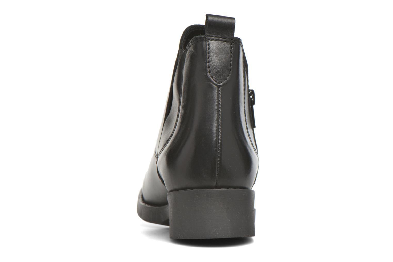 Bottines et boots André Mika Noir vue droite