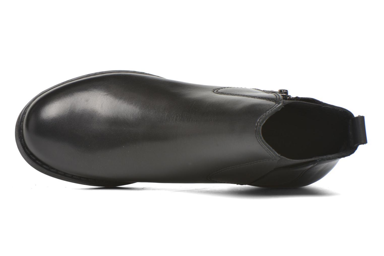Bottines et boots André Mika Noir vue gauche