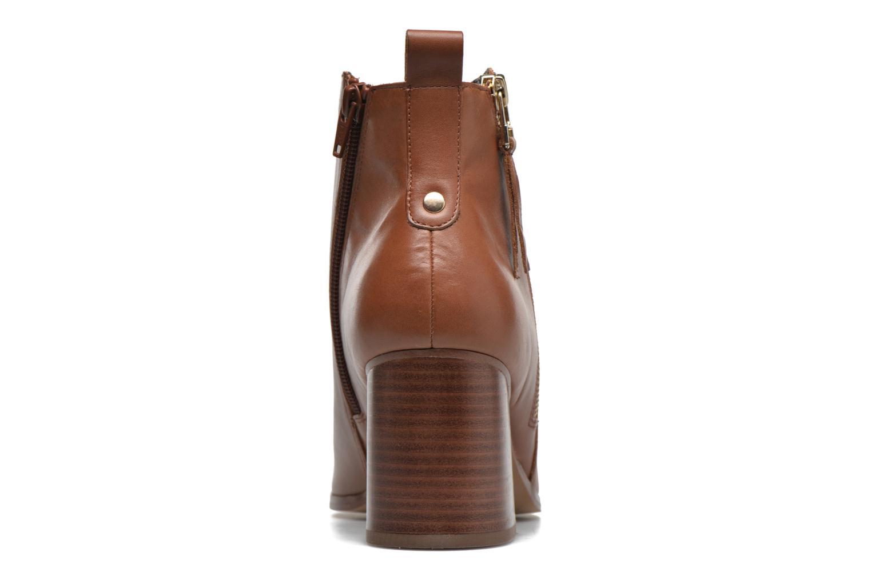 Boots en enkellaarsjes André Paolina Bruin rechts