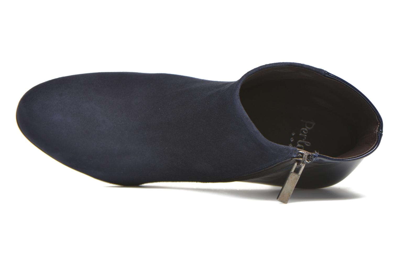 Bottines et boots Perlato Patrizia Bleu vue gauche