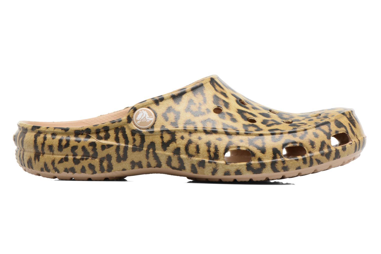 Zuecos Crocs Crocs Freesail Graphic Clog W Multicolor vistra trasera