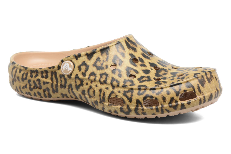 Crocs Freesail Graphic Clog W Leopard