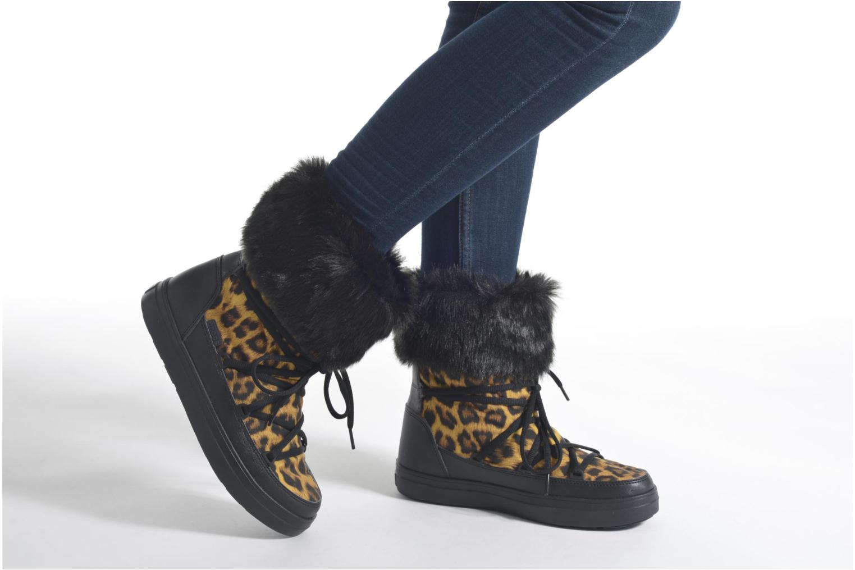 Botines  Crocs Lodgepoint Lace Boot W Negro vista de abajo