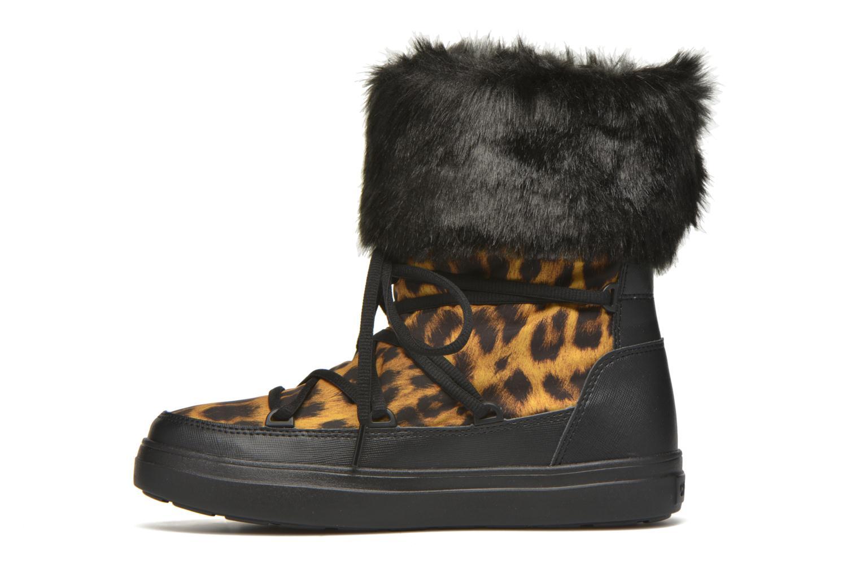 Stiefeletten & Boots Crocs Lodgepoint Lace Boot W schwarz ansicht von vorne