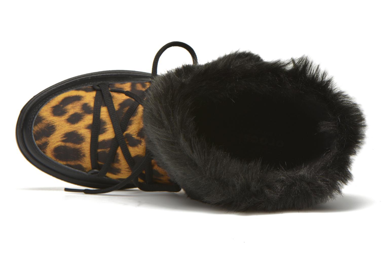 Stiefeletten & Boots Crocs Lodgepoint Lace Boot W schwarz ansicht von links