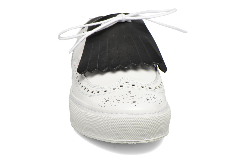 Baskets Clergerie Tolka Blanc vue portées chaussures