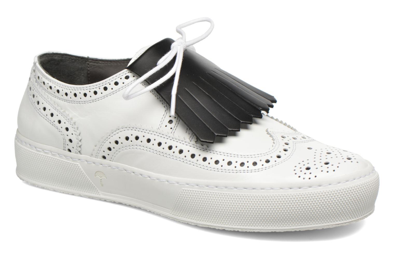 Baskets Clergerie Tolka Blanc vue détail/paire