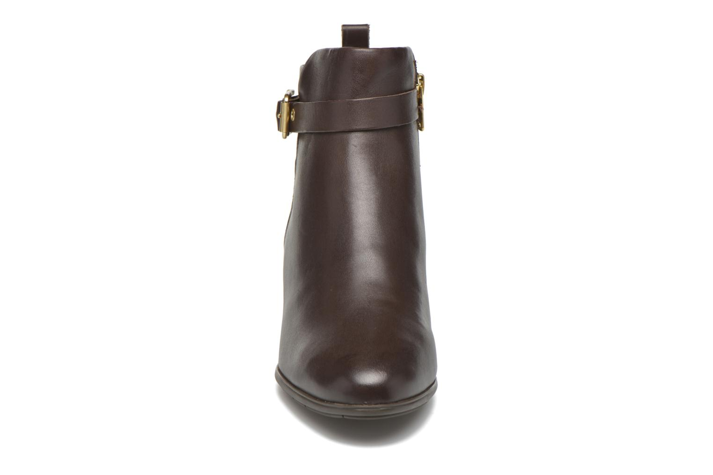 Stiefeletten & Boots Rockport Melora Strap Bootie braun schuhe getragen