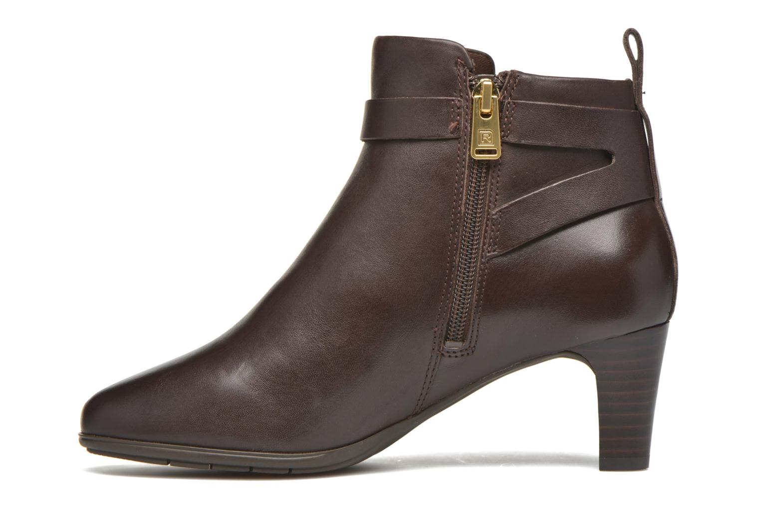 Bottines et boots Rockport Melora Strap Bootie Marron vue face