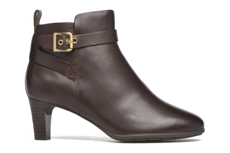 Stiefeletten & Boots Rockport Melora Strap Bootie braun ansicht von hinten
