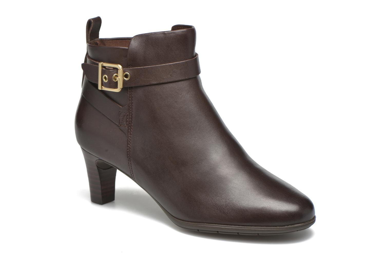 Stiefeletten & Boots Rockport Melora Strap Bootie braun detaillierte ansicht/modell
