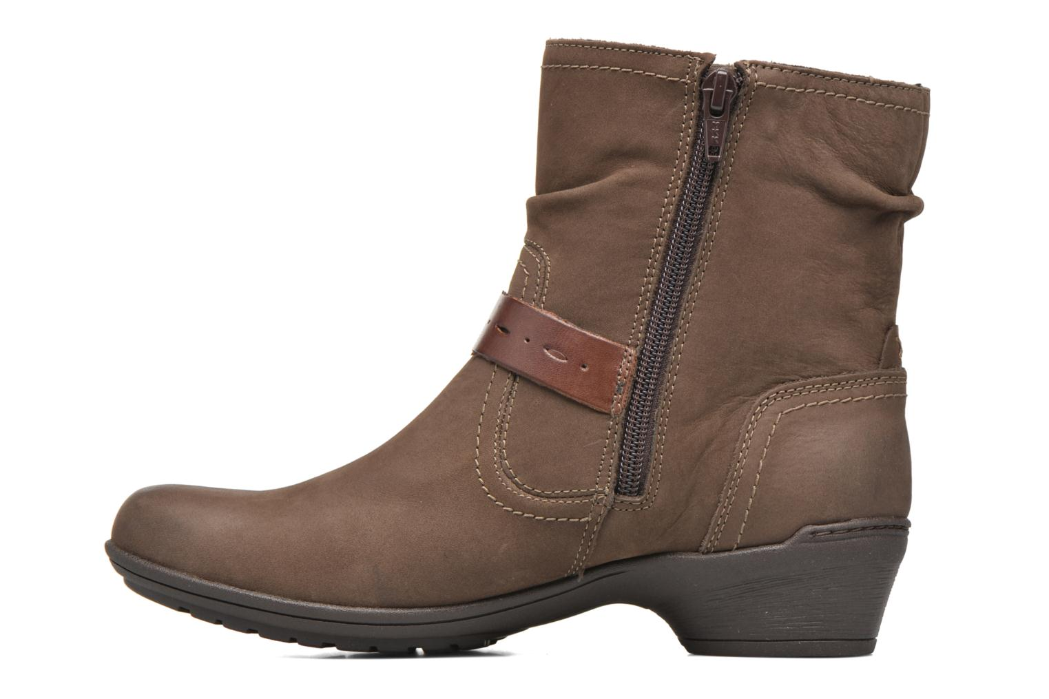 Ankle boots Rockport Riley-CH INTL Brown front view