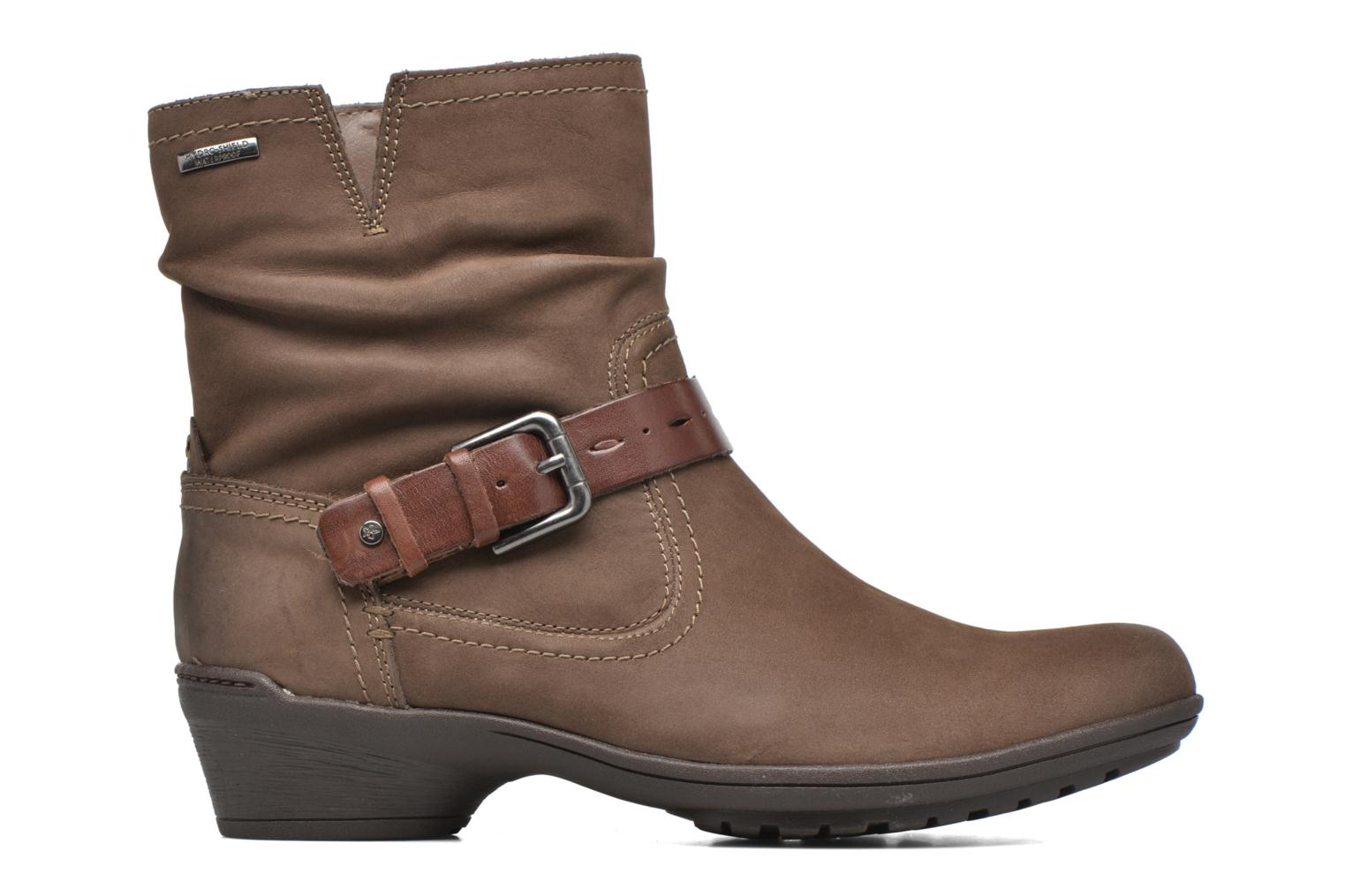 Ankle boots Rockport Riley-CH INTL Brown back view