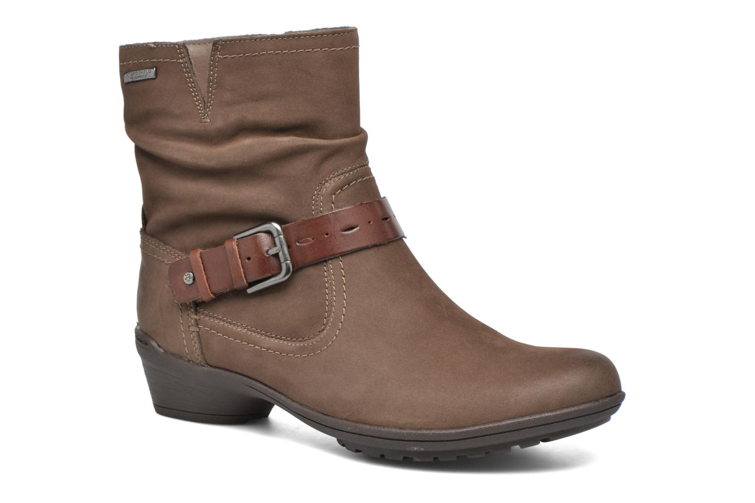 Ankle boots Rockport Riley-CH INTL Brown detailed view/ Pair view