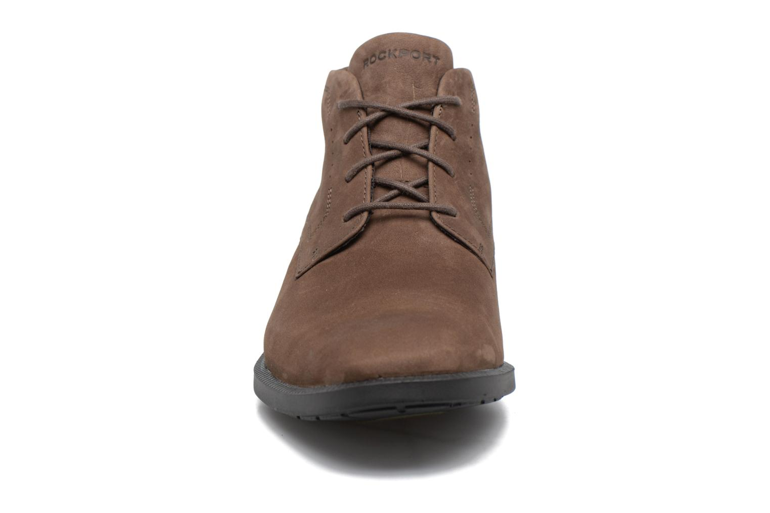 Lace-up shoes Rockport DP Modern Chukka Beige model view
