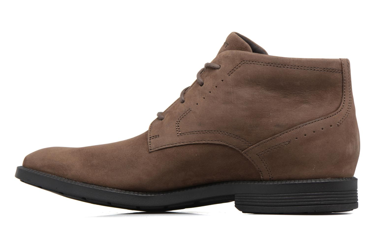 Lace-up shoes Rockport DP Modern Chukka Beige front view