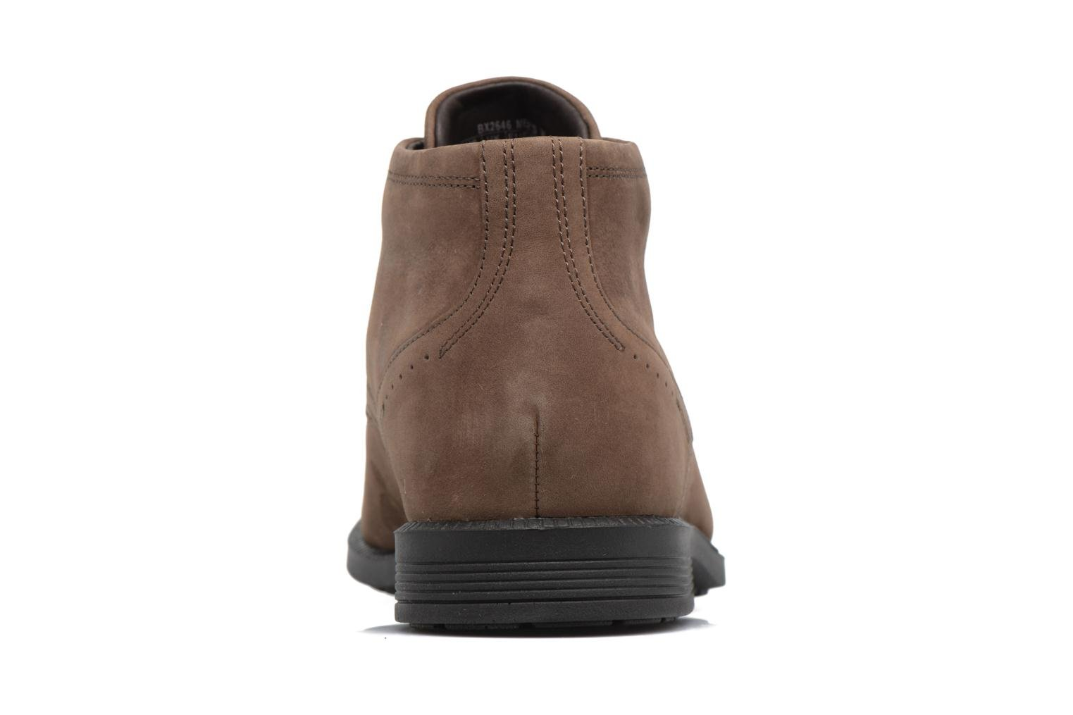 Lace-up shoes Rockport DP Modern Chukka Beige view from the right