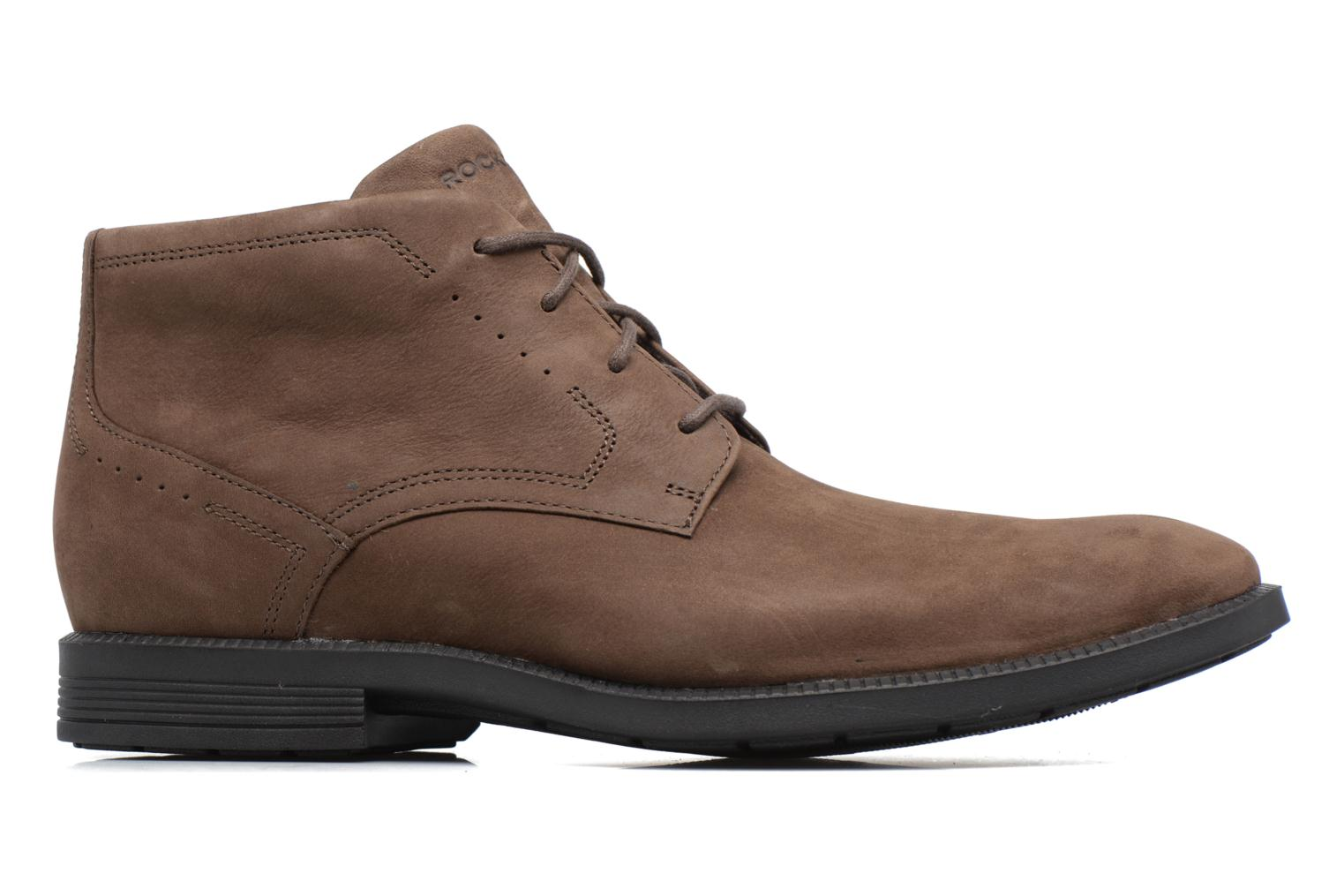 Lace-up shoes Rockport DP Modern Chukka Beige back view
