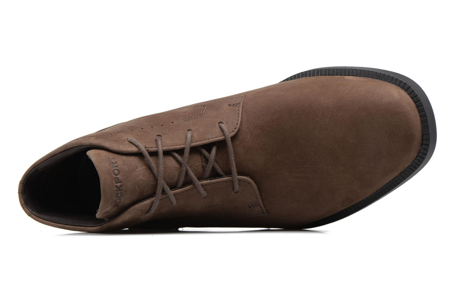 Lace-up shoes Rockport DP Modern Chukka Beige view from the left