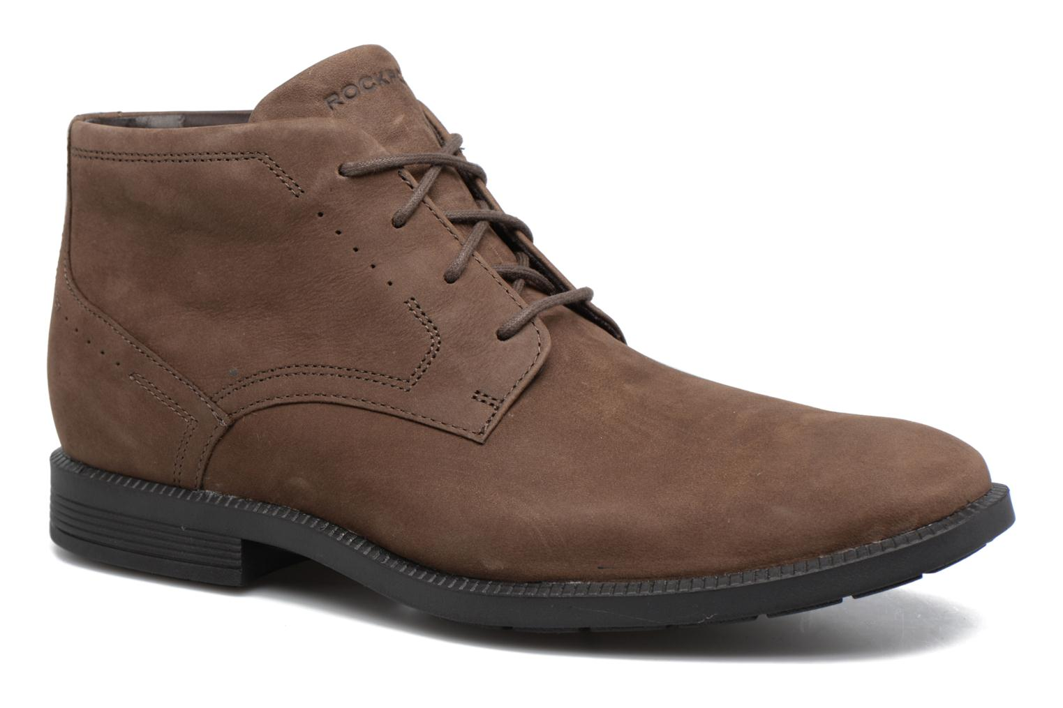 Lace-up shoes Rockport DP Modern Chukka Beige detailed view/ Pair view