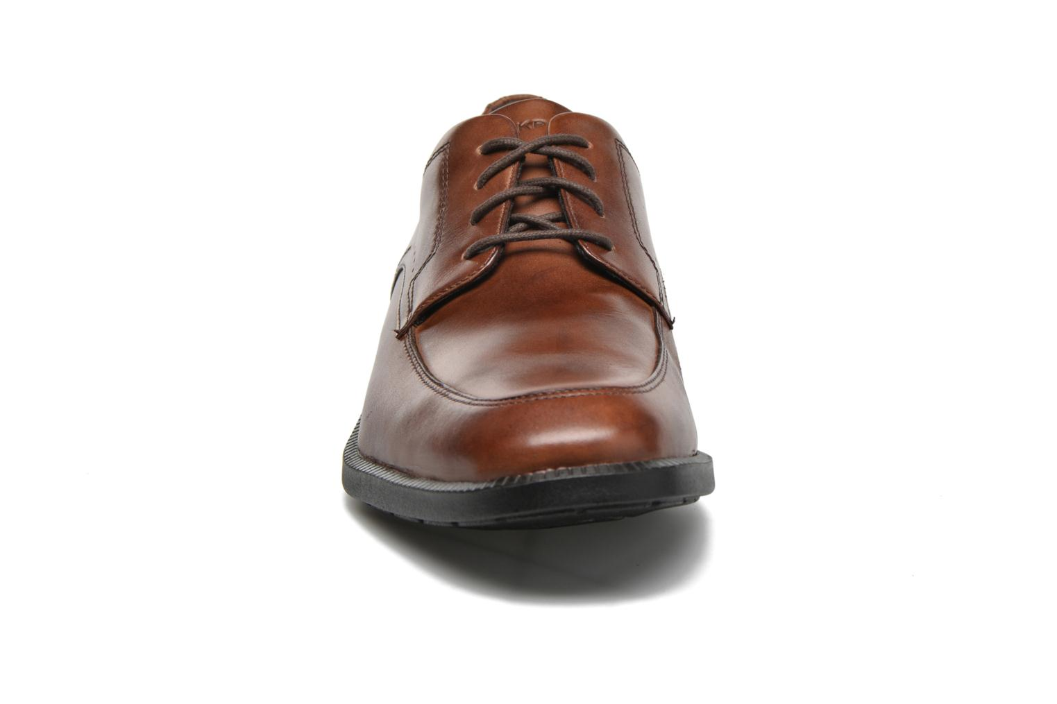 Lace-up shoes Rockport DP Modern Apron Toe Brown model view
