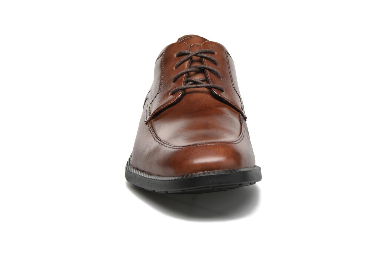 Chaussures à lacets Rockport DP Modern Apron Toe Marron vue portées chaussures