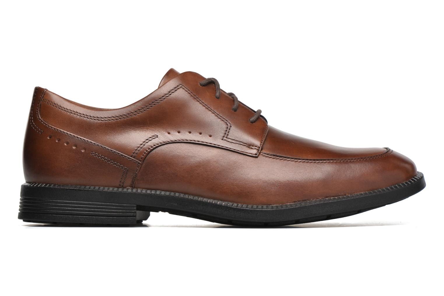Lace-up shoes Rockport DP Modern Apron Toe Brown back view