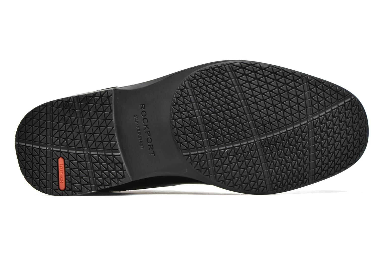 Chaussures à lacets Rockport Esntial Dtl II Cap Toe Noir vue haut