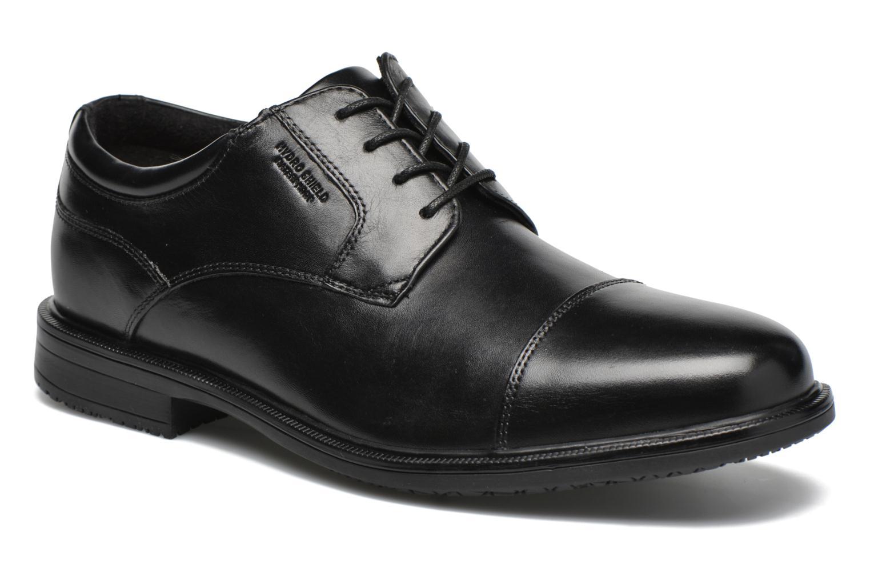 Rockport Esntial Dtl II Cap Toe (Noir) - Chaussures à lacets chez Sarenza (274608)