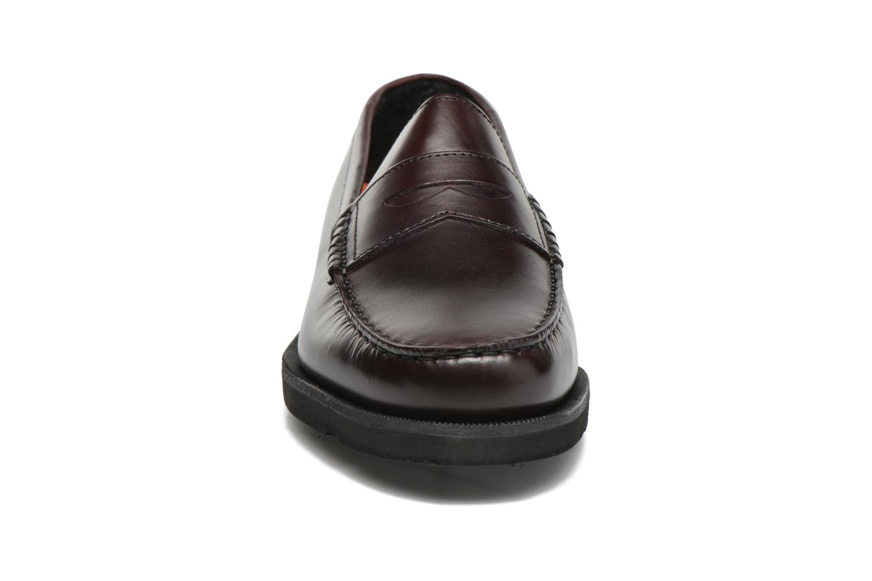 Mocassins Rockport Penny Loafer Marron vue portées chaussures