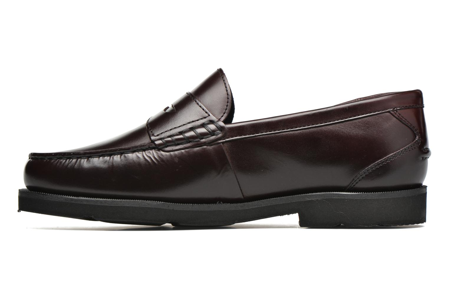 Mocassini Rockport Penny Loafer Marrone immagine frontale