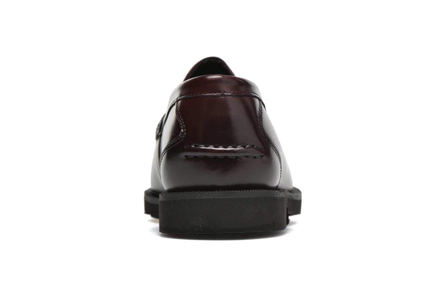 Mocasines Rockport Penny Loafer Marrón vista lateral derecha
