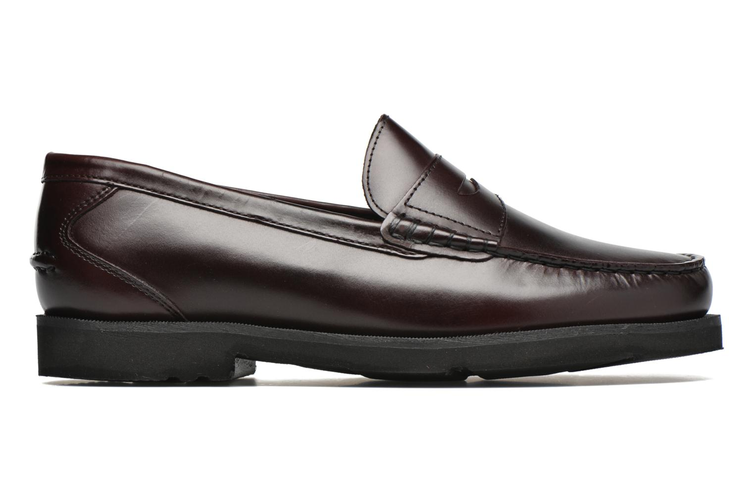Loafers Rockport Penny Loafer Brown back view