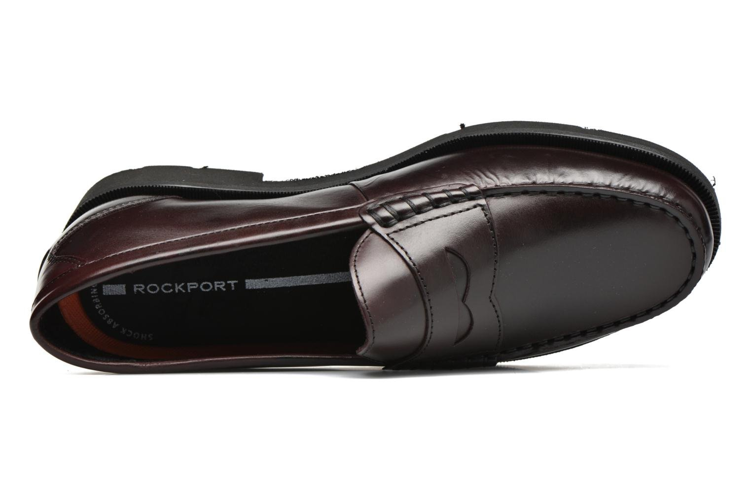 Loafers Rockport Penny Loafer Brown view from the left