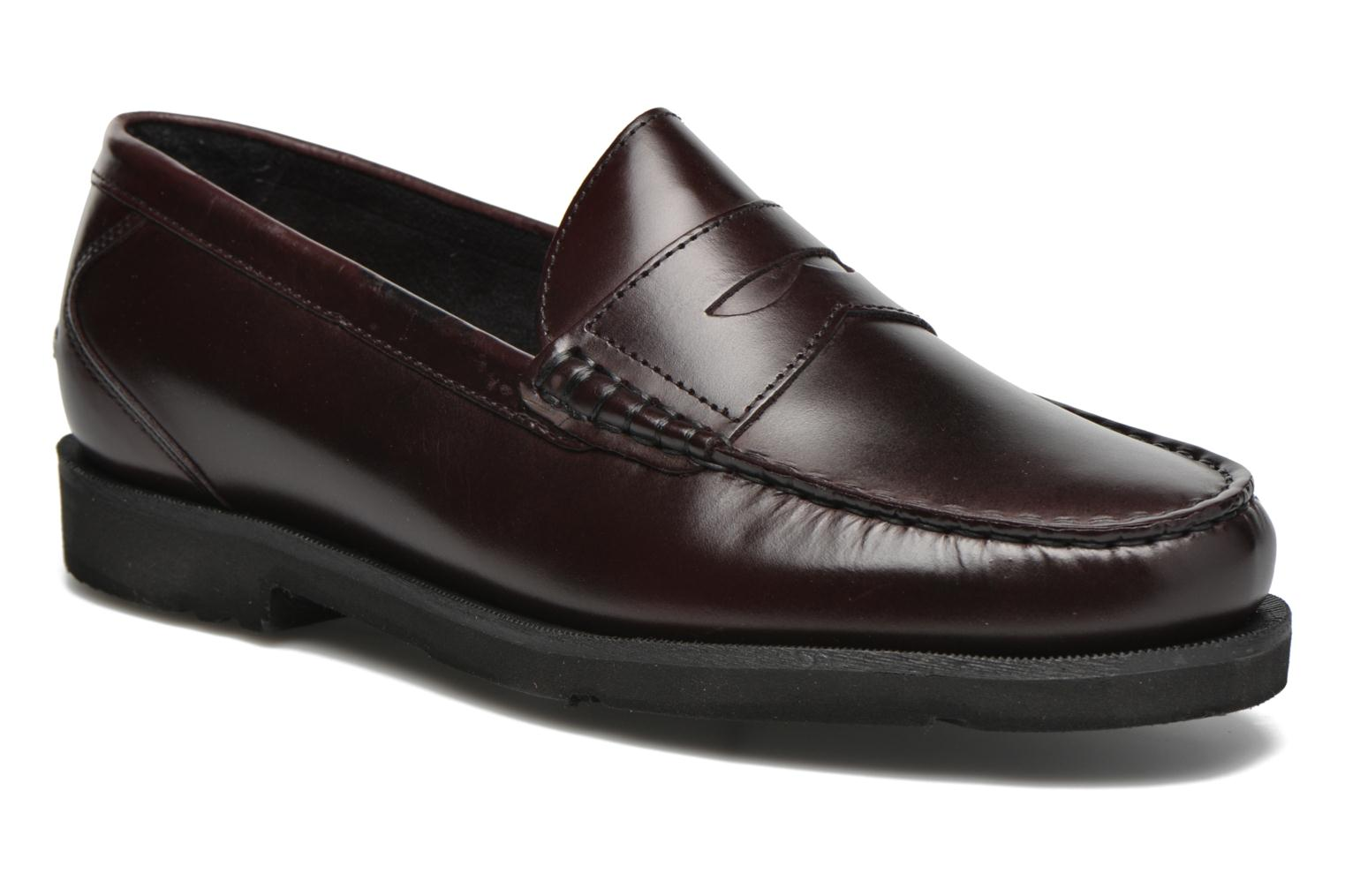 Loafers Rockport Penny Loafer Brown detailed view/ Pair view