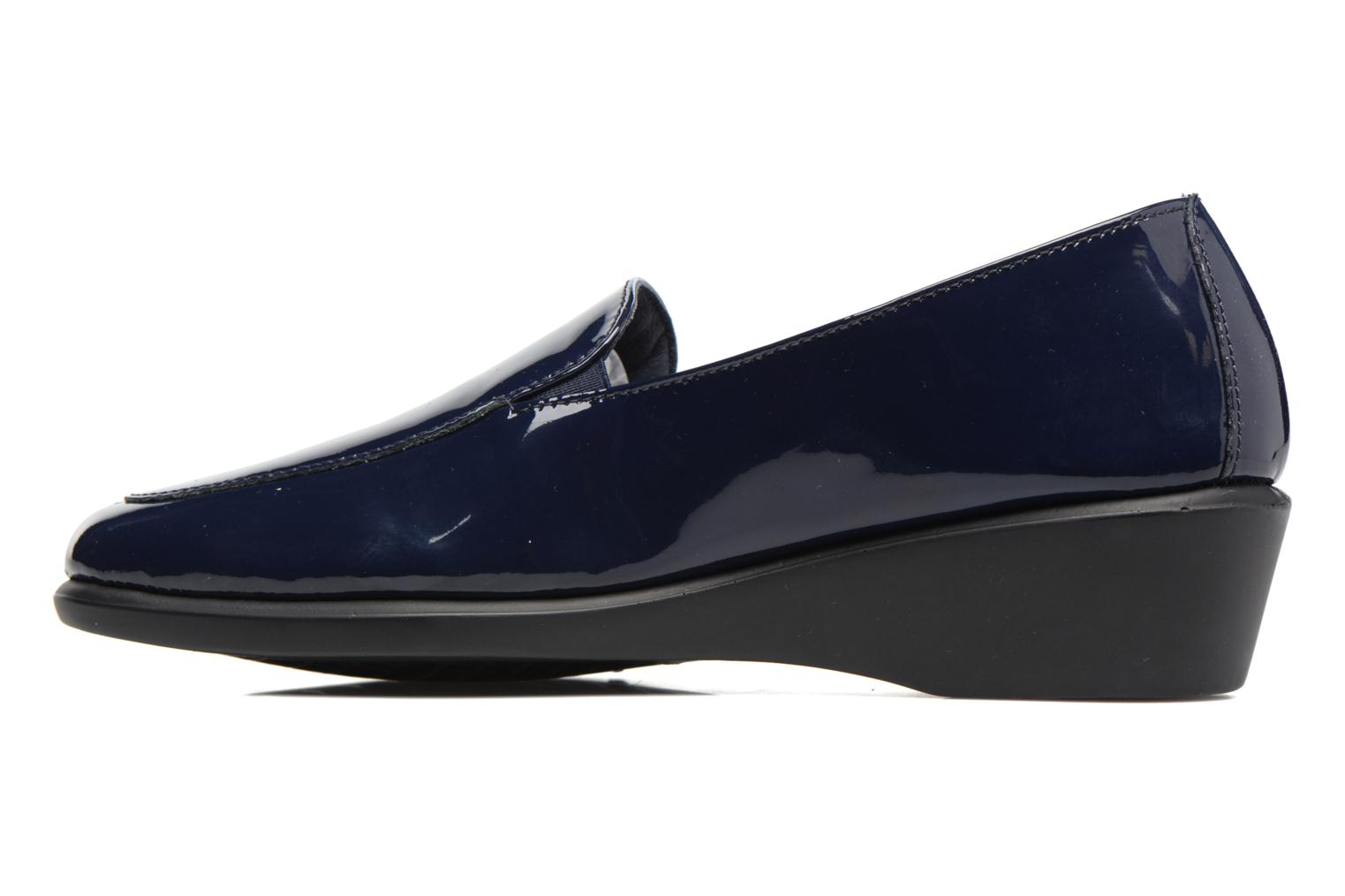 Mocassins Aerosoles Four Williams Bleu vue face