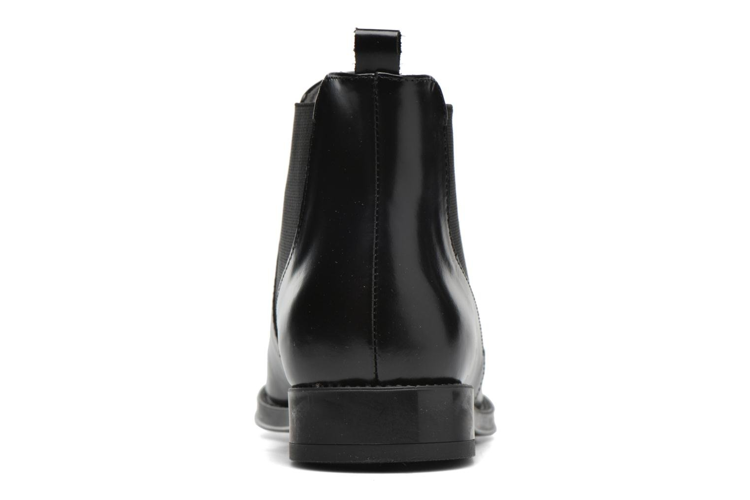 Ankle boots Aerosoles Push N Pull Black view from the right