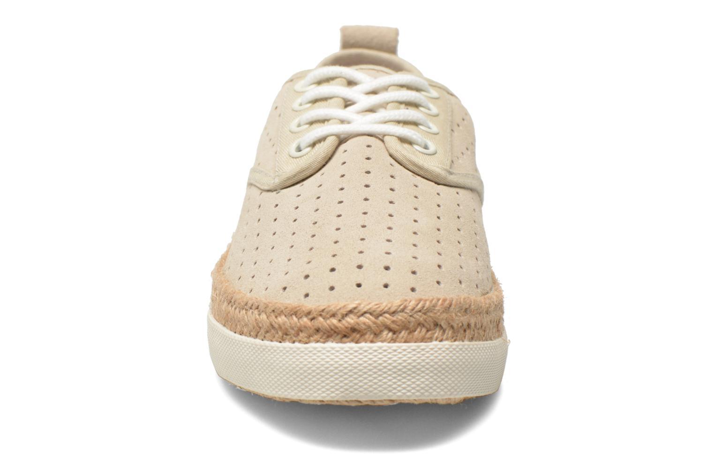 Espadrilles Pare Gabia Alto Beige vue portées chaussures