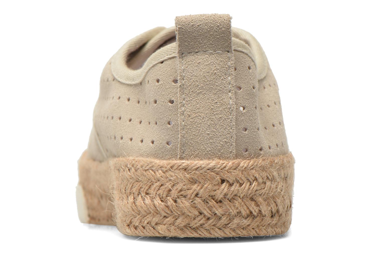 Espadrilles Pare Gabia Alto Beige view from the right